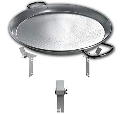 Moesta-BBQ 10164 PAN'BBQ für Smokin' PizzaRing – Moesta Riesen-Pfanne - Für Kugel-Grills mit 57cm Ø