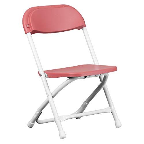 Flash Furniture Kids Burgundy Plastic Folding Chair Georgia