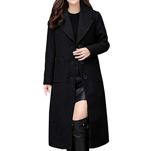 serliy😛Damen Winterjacke Wintermantel Lange Daunenjacke Jacke Outwear Frauen Winter Warm Daunenmantel Fashion Herbst Winter Lange Wollmantel Outwear Cardigan