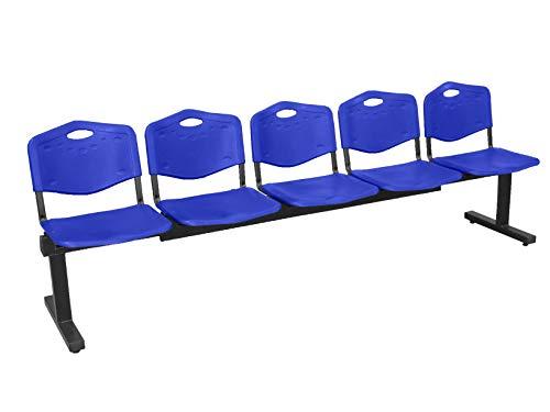 Piqueras Y Crespo (PIQU7) Bancada Albatana Color Azul Sillas de Oficina, Talla Unica