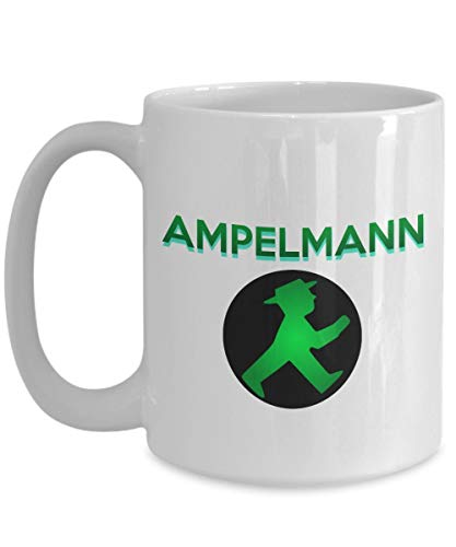 Ampelmann Tasse - 11 Unzen Kaffeetasse