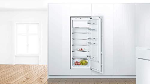 Bosch KIL52ADE0 Serie 6 Einbau-Kühlschrank mit Gefrierfach / E / 140 cm Nischenhöhe / 151 kWh/Jahr / 213 L Kühlteil / 15 L Gefrierteil / VitaFresh plus / VarioShelf