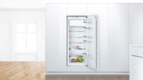 Bosch KIL52ADE0 Serie 6 - Frigorífico empotrable con congelador, A+++, altura de nicho de 140 cm, 122 kWh/año, 213 l, compartimento congelador de 15 l, VitaFresh plus y VarioShelf