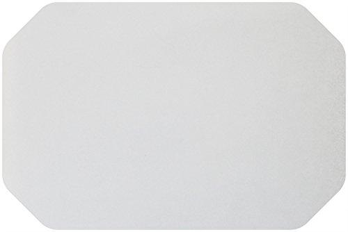 CounterArt Octagonal Acrylic Placemat, Set of 4