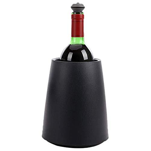 ZYL-IL Cubos de Hielo de Hielo de la cubeta Activa Heladera for vinos Negro Elegante, Familia, barbacoas, Fiestas, Bares, Clubes, restaurantes y Mucho más SYHZHY