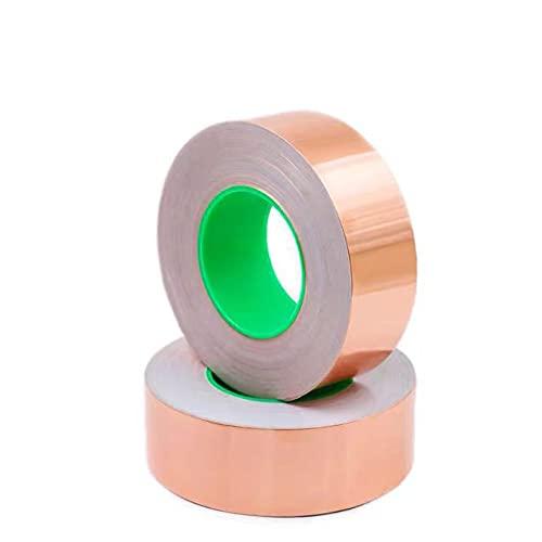 2 Piezas de lámina de cobre Cinta protectora de cinta de lámina...