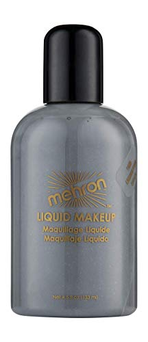 Mehron Liquid Makeup 4.5 oz Monster Grey by Mehron