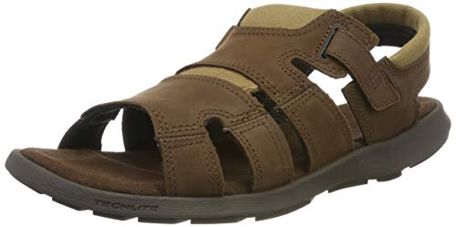 Columbia Homme Sandales, SALERNO, Taille 50, Brun (Tobacco, Steel)