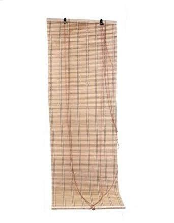 LEYENDAS Estores de Bambú Cortina de Madera Persiana Enrollable (90_x_175_cm)