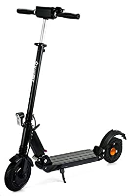 "iconbit Tracer Street Electric 350w Motor Kick Scooter 20 km Distance (Max) With 8"" Wheels - Black - 20 km/H"