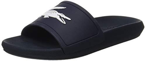 Lacoste Damen Croco Slide 119 3 Cfa Sneaker, Blau (Navy/White 092), 42 EU