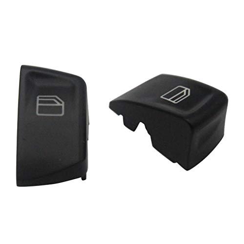 Gazechimp Fensterheber Schalter Tasten Knopf Vorne Links + Rechts für Mercedes-Benz Vito W639 / Sprinter MK2 W906