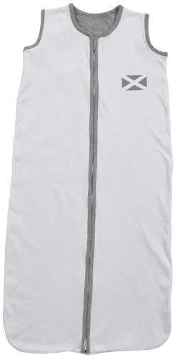 Jollein 049-510-64860 slaapzak zomer, 70 cm, jersey vlag, wit