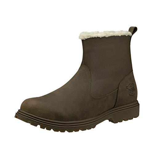 Helly-Hansen Mens Sherwood Waterproof Winter Boot, 745 Bushwacker/Sperry Gum, 10.5