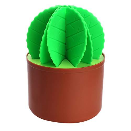 Calvinbi Big Sales - Posavasos de silicona con diseño de cactus Bonsái, diseño de bola de hada