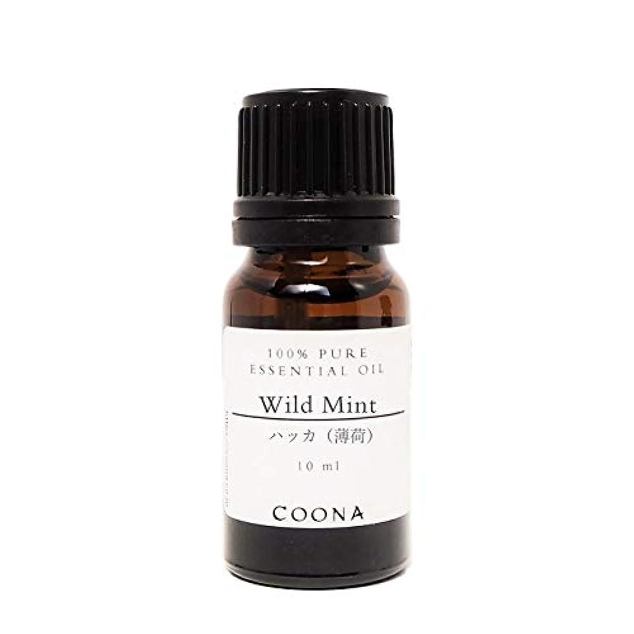 不格好神経障害引き受けるハッカ (薄荷) 10 ml (COONA エッセンシャルオイル アロマオイル 100%天然植物精油)