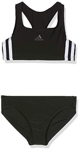 adidas adidas 3-Streifen Bikini-Set, Black White, 152 Bild