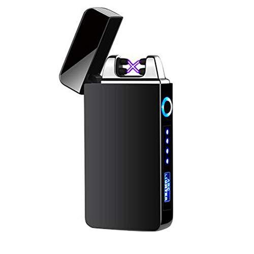 Double Arc aansteker, USB opladen winddicht, gepersonaliseerde sigaar mannelijke elektronische aansteker