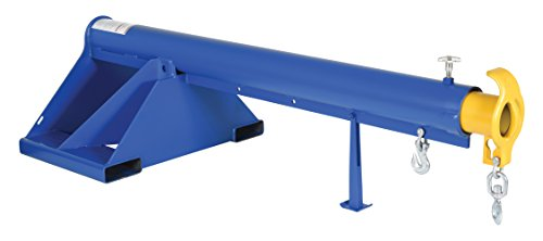 Vestil LM-1T-3-24 Telescoping Lift Boom, Steel, 3000 lbs Capacity Overall LxWxH (in.) 32 x 86 x 25.875, Overall Extended Length (in.) 151-1/4