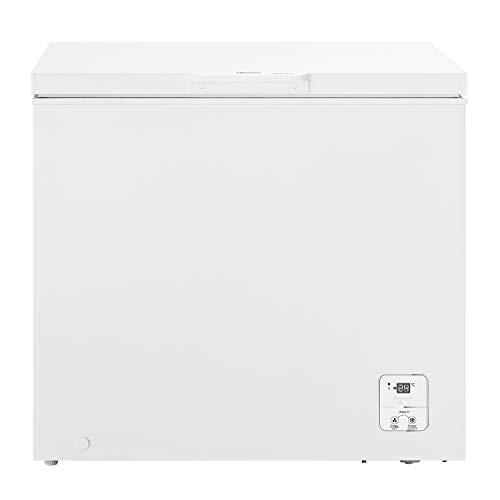 Hisense FT237D4BW21 - Arcón Congelador Horizontal Clase A++, Cesta con asa, Función dual convertible en modo frigorífico, color Blanco con 182L de Capacidad y bajo nivel sonoro