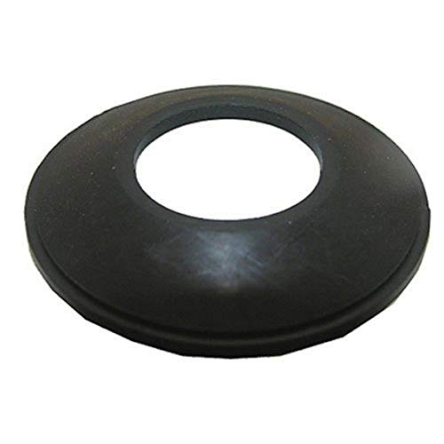 LASCO 03-4907 Bathtub Drain Stopper Gasket for Tip-Toe Style Stopper, Black Rubber