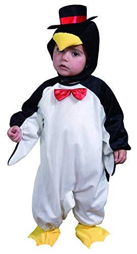 fyasa 700901-tbb Pinguin kostuum, zwart/wit, klein