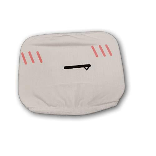 Mascarilla Protectora Blanca para la Boca, de algodón, Reutilizable, Blanco
