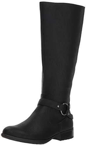 LifeStride Women's X-Felicity Wide Calf Tall Shaft Boot Knee High, Black wc, 7.5 W US