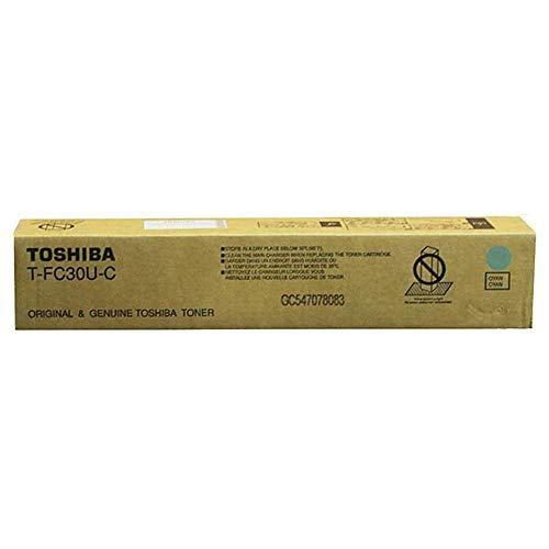 Toshiba T-FC30U-C Laser Toner 28000páginas Cian - Tóner para impresoras láser (Cian, e-Studio...