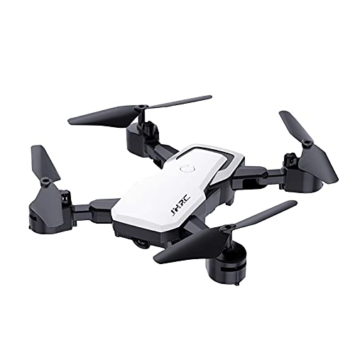 SXLCKJ Drones RC Helicopter Kid JH3S Drone Plegable 4k WiFi FPV Cámara HD Quadcopter Altitude Hold Control Remoto Aeronave (D) (Juguete Inteligente)
