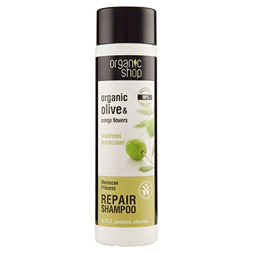 Organic Shampoo acetate Olive & Orange Flowers – 280 ml