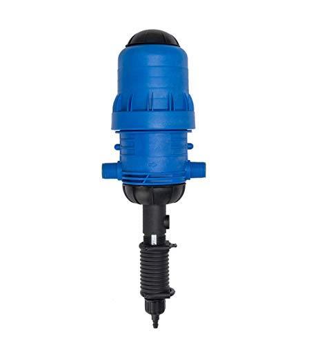 Hyindoor Bomba de Dosificador de Fertilizante Químico Irrigación Bomba Proporcional Automática Conector Inyector Proportioner de la Dilución para Ganadería, Agricultura, Jardinería, Hogar