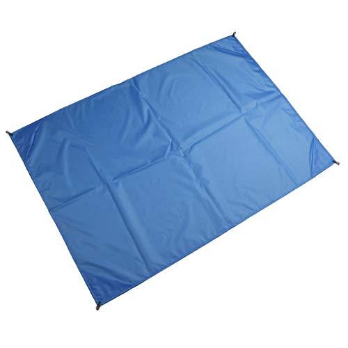 Sandfree Beach Blanket, Sand Free Beach Mat Outdoor Picnic Blanket Rug Sandless Mattress Pad Barbecue Mat Blanket for Travel, Picnics, Sunshade, Camping, Outdoor (Blue)