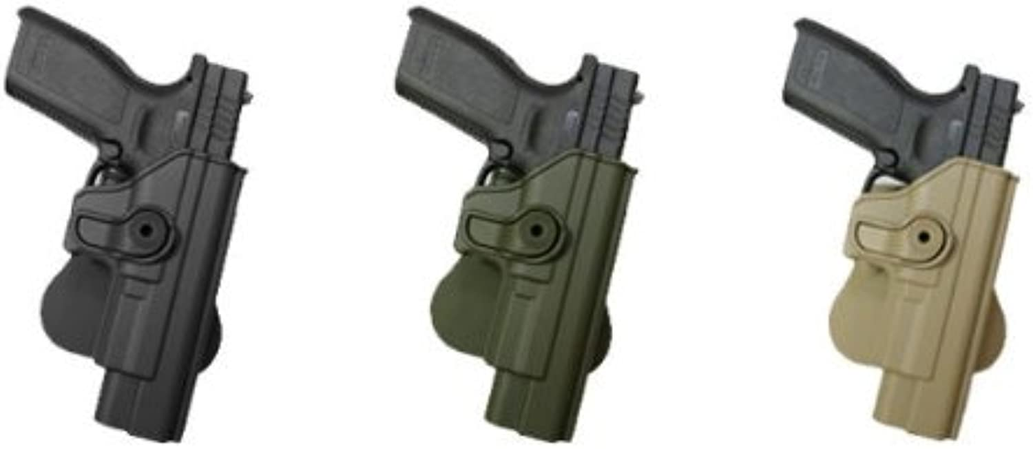 Concealed Carry HandGun Pistol Concealed Carry Hand Gun Polymer Retention redo Holster Case Springfield (springfeild, springfiled,springfild, spingfield) XD 9mm .40 .45, XDM 9mm, HS2000 OD Green IMI RSR Defence Gun   HandGun Pistol Concealed Carry Holster