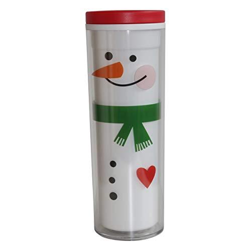 Starbucks original Tumbler Winter Collection Christmas Happy Snowmen Weihnachten Xmas