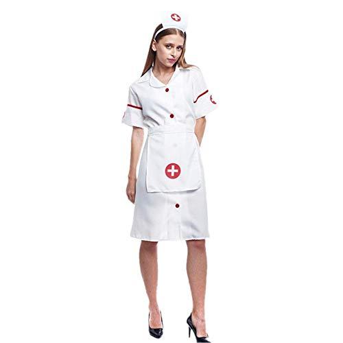 Disfraz Enfermera Mujer Adulto para Carnaval Profesiones (Talla M) (+ Tallas)