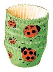 Kaiser Bakeware Mini-Backförmchen aus Papier, Motiv: Marienkäfer