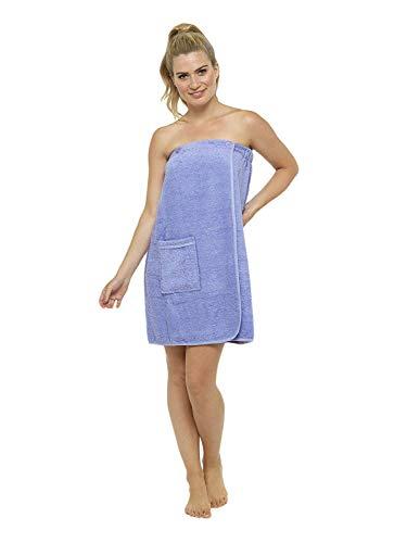 Toalla para mujer, 100% algodón, muy absorbente, de rizo su
