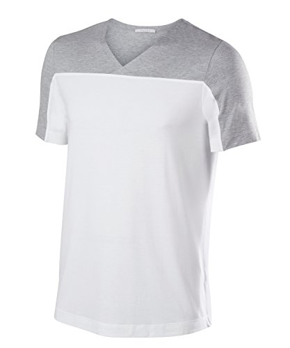 Falke 36222 T-Shirt Homme, Blanc, FR (Taille Fabricant : XL)