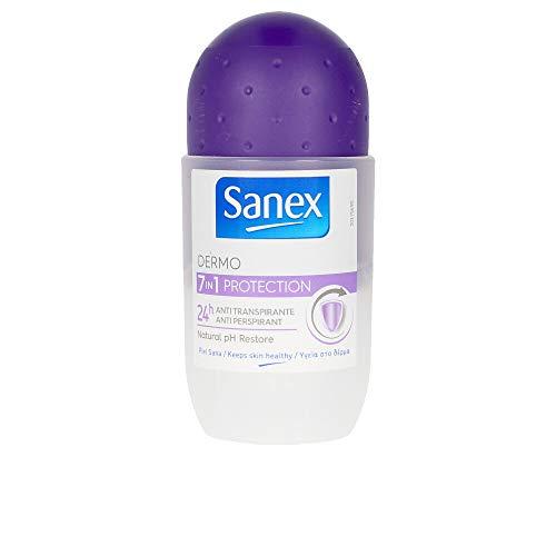 Sanex Desodorante Roll-ON 50 ML. 7 EN 1 Anti-TRAN, Neutro, Estándar