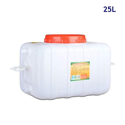 Guoda Wasserkanister  Material In Lebensmittelqualität   Wasserventil   Zuhause, Außenbereich   25L   Weiß