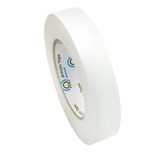 Pro Console Tape/Artist Tape (1' x 60 yard (1 Roll), White)