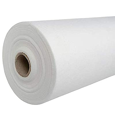 "[50% THICKER] Massage Table Paper Roll (Pack of 1) 31.5"" x 328' Disposable Massage Bed Sheets - Non Woven Massage Table Cover Sheets for Facial Bed, Tattoo Bedsheets, Spa Waxing Bed- Massage Bed Paper"