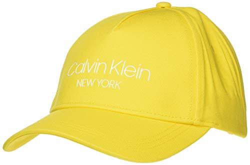 Calvin Klein Damen Ck Ny Bb Baseball Cap, Gelb (Scuba Yellow Za2), One Size...