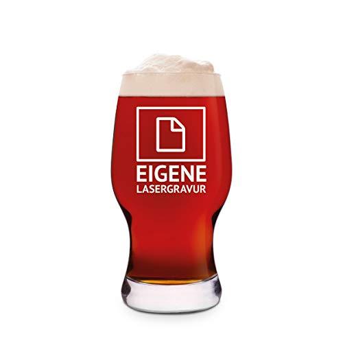 Leonardo Craft Bierglas 0,33 L Bierglas gravure individueel geschenk - motief naar keuze Craft Beer Glas 0,33 L (Durchm 7,5 cm, Höhe 15 cm) Eigen gravure.