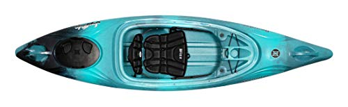 Perception Joyride 10 | Sit Inside Kayak for Adults and Kids | Recreational and Multi-Water Kayak with Selfie Slot | 10' | Dapper