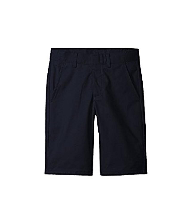 ノーティカ Nautica Kids キッズ 男の子 ショーツ 半ズボン Navy Flat Front Twill Shorts (Big Kids) [並行輸入品]