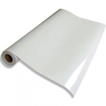 Vinilo Blanco brillo, alta calidad, para interior y exterior. Medida: 60x150cm