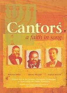 Cantors - A Faith in Song: Benzion Miller, Alberto Mizahi & Naftali Herstik [VHS]