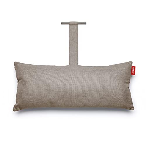 Fatboy® Headdemock Superb Pillow naturgrau | Hängematten-Kissen | Gemütliches Outdoor Hängematten-Kissen | 70 x 30 x 13 cm